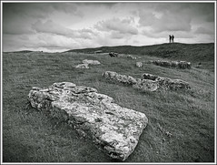Transience (spodzone) Tags: building art nature stone landscape derbyshire places boulder megaliths materials downsouth stonecircle megalith phenomena rockstone arborlaw