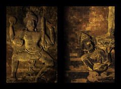 _MG_6379 (gaujourfrancoise) Tags: voyage travel asia cambodge cambodia khmer statues buddhism asie angkor hinduism bouddhisme hindouisme basreliefs khmère lowreliefs gaujour