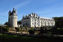 2014_Chenonceaux_1508 (emzepe) Tags: france castle de frankreich palace val valley loire francia château burg vár kirándulás 2014 ősz szeptember schlos franciaország kastély völgy várkastély