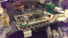 The Stork (Lonnon Foster) Tags: ferry lego space spaceship brickcon2014