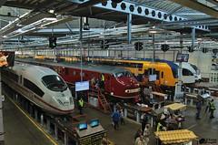 NedTrain Leidschendam (Romar Keijser) Tags: oktober ice train open 10 ns 4 plan u dag spurt trein 115 spoor 175 jaar nedtrain treinen arriva 2014 onderhoud ldd werkplaats treinstel ddz treinstellen