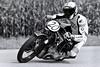 BMW R 57 1928 Roland Hamminger (A) Oldtimer Grand Prix Schwanenstadt Austria (c) 2014 Bernhard Egger :: eu-moto images   pure passion 2369 bw