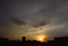 Beautiful Sunrise in Islamabad on Eid Day