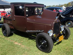 1929 Ford Model A Pickup (splattergraphics) Tags: ford truck modela pickup hotrod custom carshow 1929 baltimoremd pimlicoracecourse roddersjournalrevival