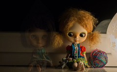 Blythe a Day 10 a haunting