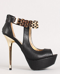 "metallic accent cut out peep toe black • <a style=""font-size:0.8em;"" href=""http://www.flickr.com/photos/64360322@N06/15486874106/"" target=""_blank"">View on Flickr</a>"