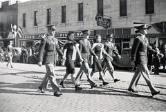 Homecoming parade down Broadway, 1941. (NDSU University Archives) Tags: parades homecoming northdakotastateuniversity