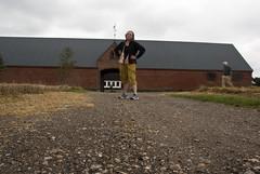 Chris and Elliot in front of okd red brick farm buliding Denmark (karenchristine552) Tags: travel summer vacation portrait usa selfportrait philadelphia landscape denmark nikon husband farmland pa danmark selfie jutland nikond80 elliotstern karenchristinehibbard christinehibbard karenchristine552 chrishibbard kchristinehibbard elliotmstern emstern