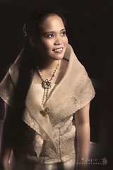 Filipiniana (Jay-c de Lente) Tags: old portrait girl vintage filipiniana barotsaya spanishcolonialperiod filipinotraditionaldress