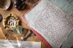 Dylan Thomas Pop-up Writing Shed (Mark Carline) Tags: writing cheshire shed chester dylanthomas chesterperforms chesterlitfest