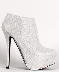 "glitter platform stiletto anke bootie silver • <a style=""font-size:0.8em;"" href=""http://www.flickr.com/photos/64360322@N06/15510039525/"" target=""_blank"">View on Flickr</a>"