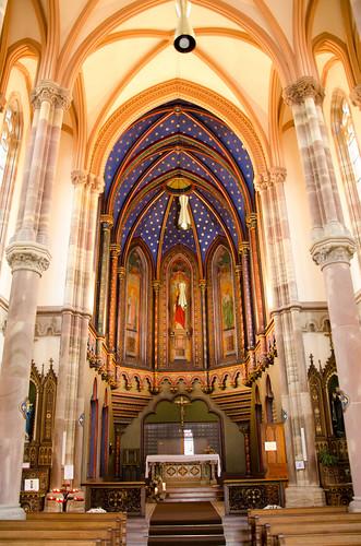 Intérieur Chapelle Notre-Dame