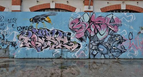 Tarbes, graffiti