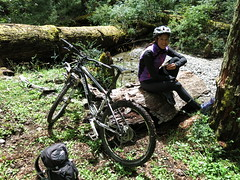 mountain biking in rio manso