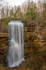 Sunset at Virgin Falls (Jon Ariel) Tags: virginfalls whitecounty tennessee waterfall