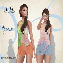 Dolly Shorts and Top (Iseult Mcpherson) Tags: mesh sl secondlife designershowcase womensclothing women tmp slink hourglass hg maitreya fashion slfashion im collection