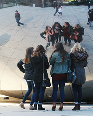 Friends (RPahre) Tags: cloudgate chicago reflections