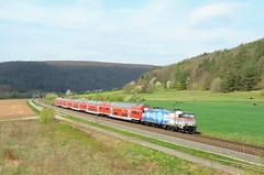 DB 146 247, Harrbach (Sander Brands) Tags: db dosto harrbach trein train treni treno trenuri bombardier maintal maindal kbs kbs800