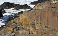 The Giant's Causeway (Dave Russell (700k views)) Tags: rock formation column basalt volcanic giants causeway northern ireland view vista sea water ocean seascape coast coastal landscape outdoor travel myth legend