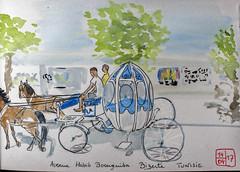 Virtual Paintout - April Challenge :Tunisia (chando*) Tags: aquarelle watercolor croquis sketch virtualpaintout tunisie bizerte