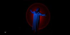 "(""wil"") Tags: toulouse toulouselightpainting lightpainting light longexposure led ledrgb socc women wil wilfriedivanes red black portrait"