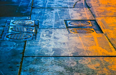 BRYAN_20170125_IMG_1094 (stephenbryan825) Tags: liverpool color floor graphic multicoloured pavement reflection selects wetpavement