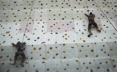 Catch Me if You Can (United States Marine Corps Official Page) Tags: kmep republicofkoreamarinecorps usmarinecorps rappel ropes rockclimbing bilateral recon reconnaissance 3dreconnaissancebattalion pohang southkorea kr