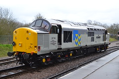 Class 37 - 37714 Cardiff Canton (Will Swain) Tags: leicester north station great central railway spring diesel gala 18th march 2017 train trains rail railways transport travel uk britain vehicle vehicles country england english class 37 37714 cardiff canton 714 preserved heritage