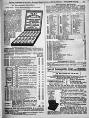 Sears Drug Department,1900 (kevin63) Tags: lightner page illustration blackandwhite old vintage antique reprint searsroebuck 1900 catalog drug department homeopathicremedies medicine patent