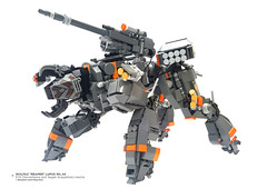 "Wulfaz ""Reaper"" Lupus WL.44 STA (Surveillance and  Target Acquisition) (Benjamin Cheh) Tags: afol lego mecha"
