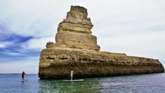 Amazing rock formations on the Atlantic coast (somabiswas) Tags: rock formation algarve protugal atlantic coast caves saariysqualitypictures