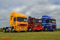 ERF EC11's X 2 + E14 (erfmike51) Tags: easterncountiesvintageshow2017 erfec11 erfe14 truck artic lorry cummins