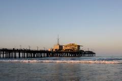 Santa Monica (Sean Sweeney, UK) Tags: nikon d7000 dslr california usa america la los angeles losangeles santa monica santamonica pier beach sunrise sea waves