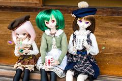 日向ぼっこ② (MebiusDoll) Tags: dollfiedream dollfiedreamsister minidollfiedream dd dds mdd