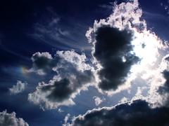 Sun dog (mkk707) Tags: olympuse1 leicadsummilux11425asph sun physics optics meteorology sundog fourthirds ccd
