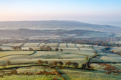 Cold start to the weekend (andythomas390) Tags: sunrise dawn frost fields outdoor hills trees nikon d7000 18200mm