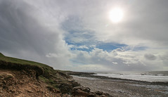 Ogmore BIG Sky (Andy.Gocher) Tags: andygocher canon100d canon1018mm uk southwales wales ogmorebysea sea seascape seaside water sky cloudsstormssunsetssunrises clouds sun beach