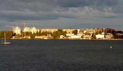 Arriving in Helsinki at Sunrise (Joseph Hollick) Tags: helsinki finland sunrise