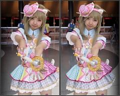 Anime Matsuri, George R. Brown Convention Center, Houston, Texas 2017.04.09 (fossilmike) Tags: houston texas animematsuri cosplay 3d crosseye