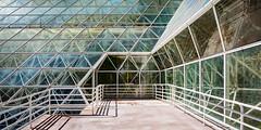 Biosphere 2 Interesections (jeff_a_goldberg) Tags: universityofarizona biospher2 biosphere winter tucson arizona unitedstates us