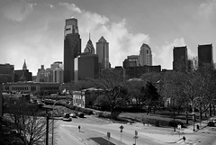 DSC_0053bw (David Swift Photography Thanks for 21 million view) Tags: davidswiftphotography philadelphia skylines philadelphiaskyline tallbuildings streetscapes cityscape cities streetphotography