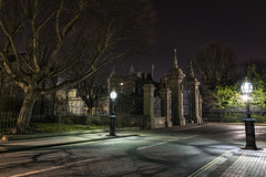 Holyrood Palace Edinburgh (Colin Myers Photography) Tags: edinburgh oldtown oldedinburgh scotland scottish holyrood palace holy rood holyroodpalace abbey strand abbeystrand royalmile royal mile shadows park victorian lantern atmospheric edinburghnight darkedinburgh colin myers photography colinmyersphotography