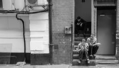 Steps for Smokers (PM Kelly) Tags: smoking smokers break cig wok workers back alley london street photography bnw bw blackandwhite blackwhite blancoynegro x70 bloomsbury