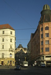Brno by gearlok - Brno, near the main  railway station. Taken in October 2011