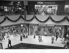 Mall Christmas - 1986 (Brett Streutker) Tags: dead dream fantasy mall shopping plaza memories abandoned store kids 1980s 1970s 1990s tv show childhood nostalgia derelict left rot rotting destroyed out business defunct teenagers teen years old time twilight zone thinking saturday morning cartoons americana history buy sell restaurant k mart wall target lowes kroger supermarket summer break schools grand opening fun