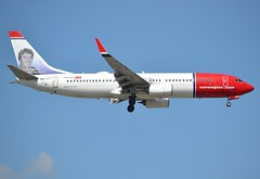 """LN-NGD, Boeing 737-8JP(WL), 39049/4161, Norwegian Air Shuttle, """"Ivo Caprino"""", ORY/LFPO, 2017-04-03, short finals to runway 06/24. (alaindurandpatrick) Tags: 390494161 lnngd 737 737ng 738 737800 boeing boeing737 boeing737800 boeing737ng jetliners airliners dy norwegiancom norwegianairshuttle airlines ory lfpo parisorly airports aviationphotography specialliveries"""