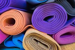 Mazunte town yoga mats