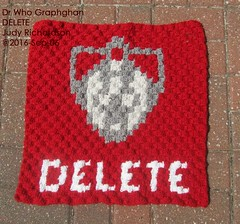 dr-who-blanket-delete (judejean) Tags: crochet square c2c drwho 2016 2017 blanket afghan throw bobbins