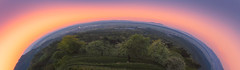 Earth day (Dejan Hudoletnjak) Tags: earth day earthday nature circle round landscape panorama sunset