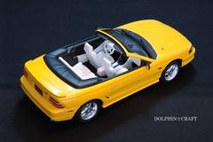 Mustang GT Convetible 1 (DOLPHIN☆CRAFT) Tags: ford mustang gt convertible tamiya フォード ムスタング マスタング コンバーチブル タミヤ プラモデル